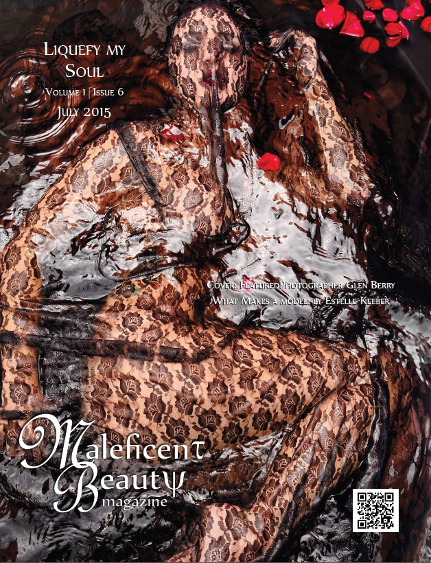 Maleficent Beauty Magazine - July 2015 Cover - Featured photograher: Glen Berry